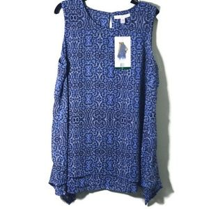 NWT Fever gorgeous sleeveless keyhole back XL